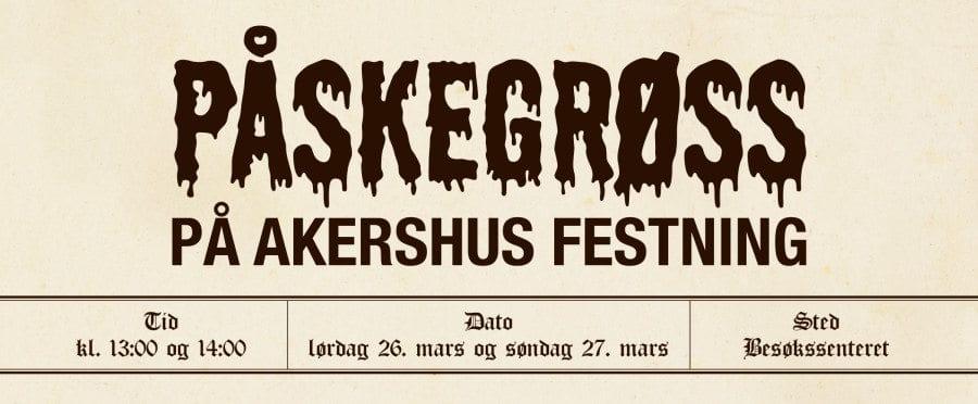 Påskegrøss på Akershus Festning hovedbilde