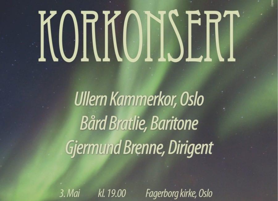 Ullern Kammerkor Avreisekonsert Sveits hovedbilde