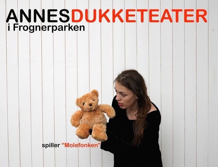Annes Dukketeater i Frognerparken spiller Molefonken hovedbilde