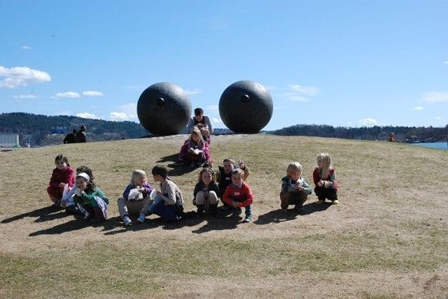 Rasmusklubben: Vi utforsker skulpturparken hovedbilde