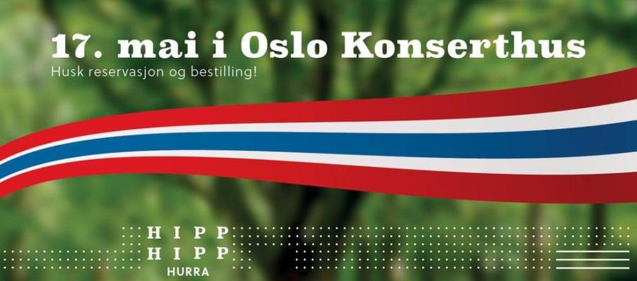 17. mai i Oslo Konserthus hovedbilde