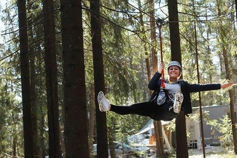 Offisiell åpning av Oslo Klatrepark hovedbilde