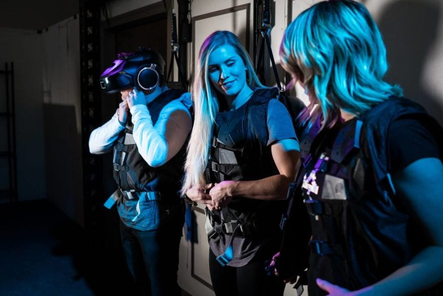 Åpningsfest hos VR Games Zone hovedbilde