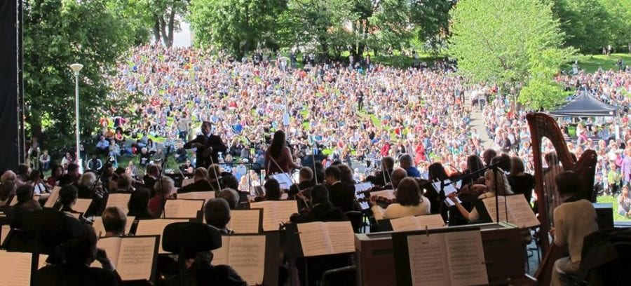 Friluftskonserten på Myraløkka hovedbilde
