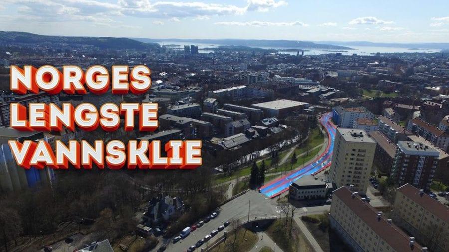 Norges lengste vannsklie! hovedbilde