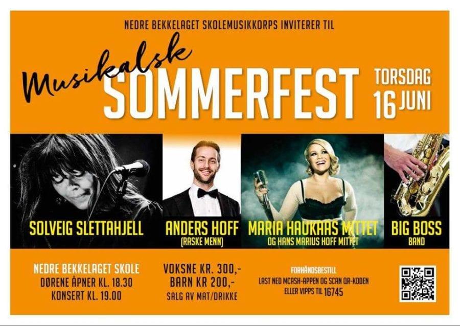 Sommerkonsert med blant annet Solveig Slettahjell hovedbilde