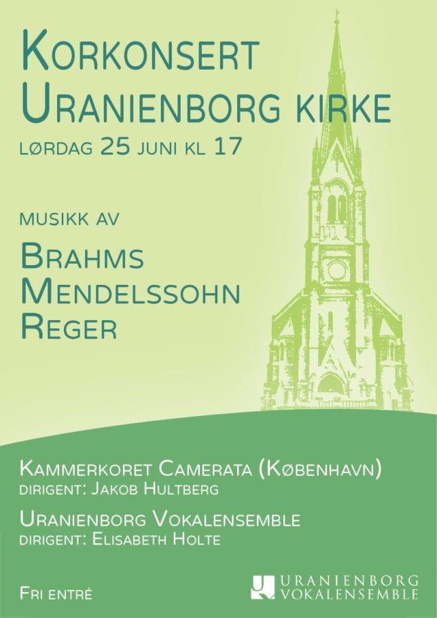 A capella konsert i Uranienborg kirke! hovedbilde