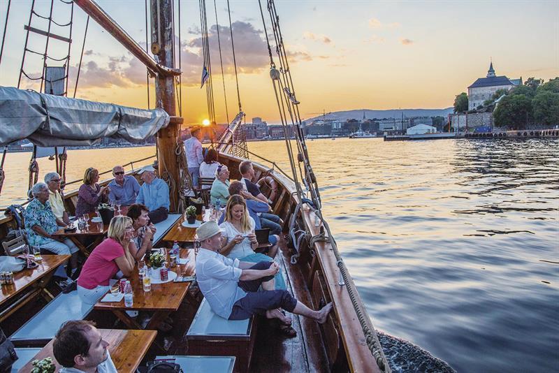Eventbilde: Opplev kvelden på Oslofjorden!