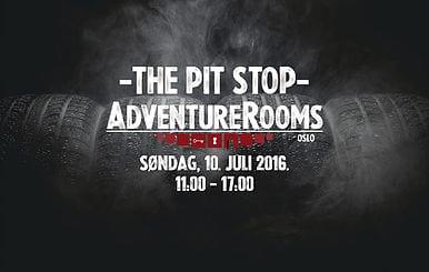 The Pit Stop – et gratis mini escape room spill hos AdventureRooms Oslo hovedbilde