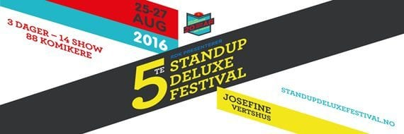 STAND UP DELUXE FESTIVAL hovedbilde