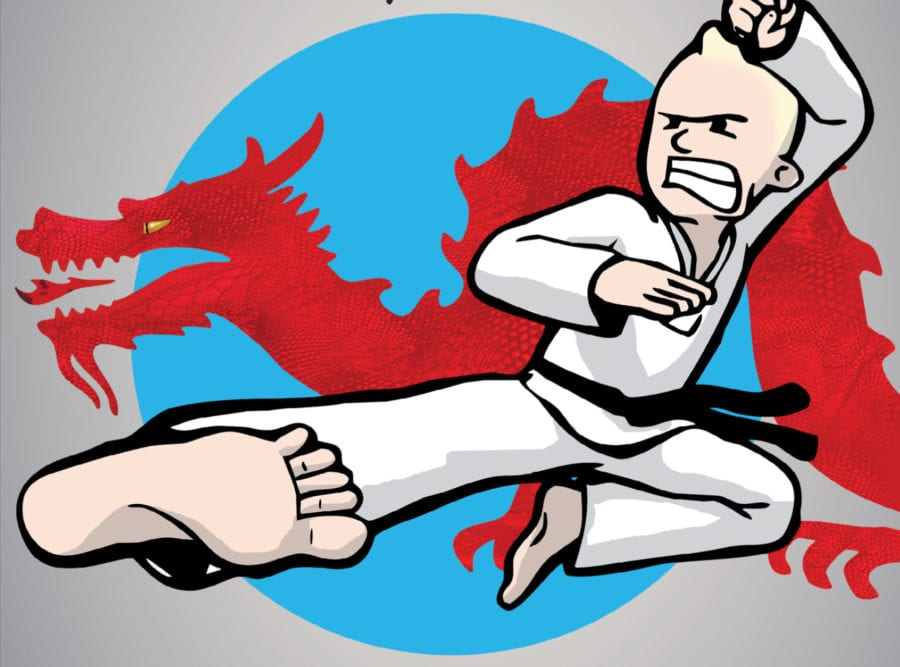 Lær kampsport! hovedbilde
