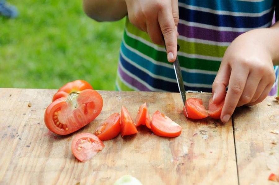 Kokkefest på Geitmyra matkultursenter for barn hovedbilde