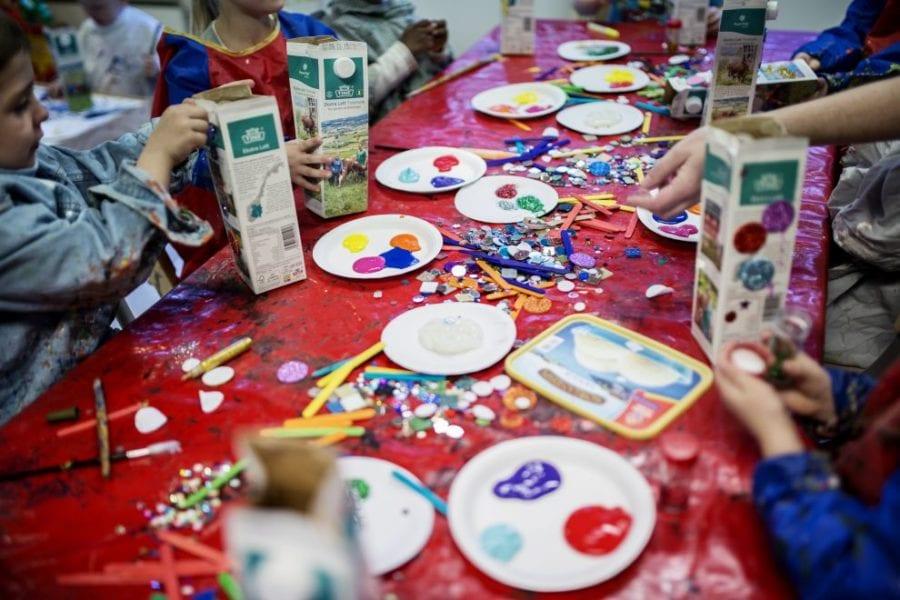 Kunstworkshop for barn hovedbilde