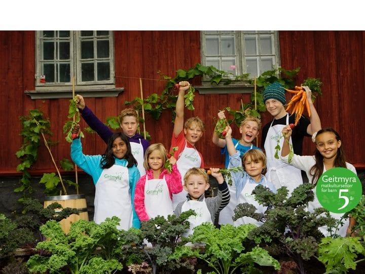 Barnas smaksfest på Geitemyra hovedbilde