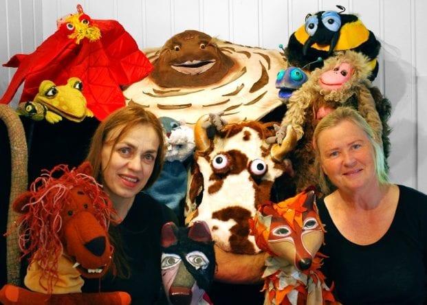 Annes Dukketeater spiller Sinnataggen hovedbilde