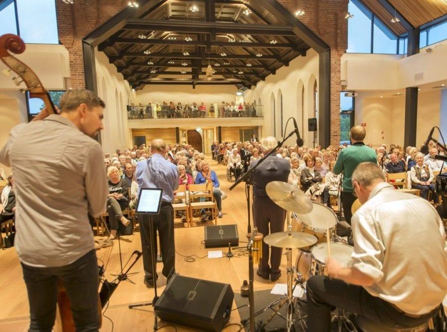 Jazzkonsert med Magnolia Jazzband i Nordstrand kirke hovedbilde