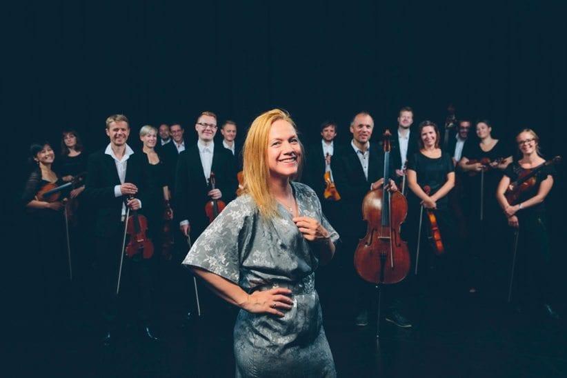 Anneli Drecker og NOSO Kammerorkesteret i Operaen hovedbilde