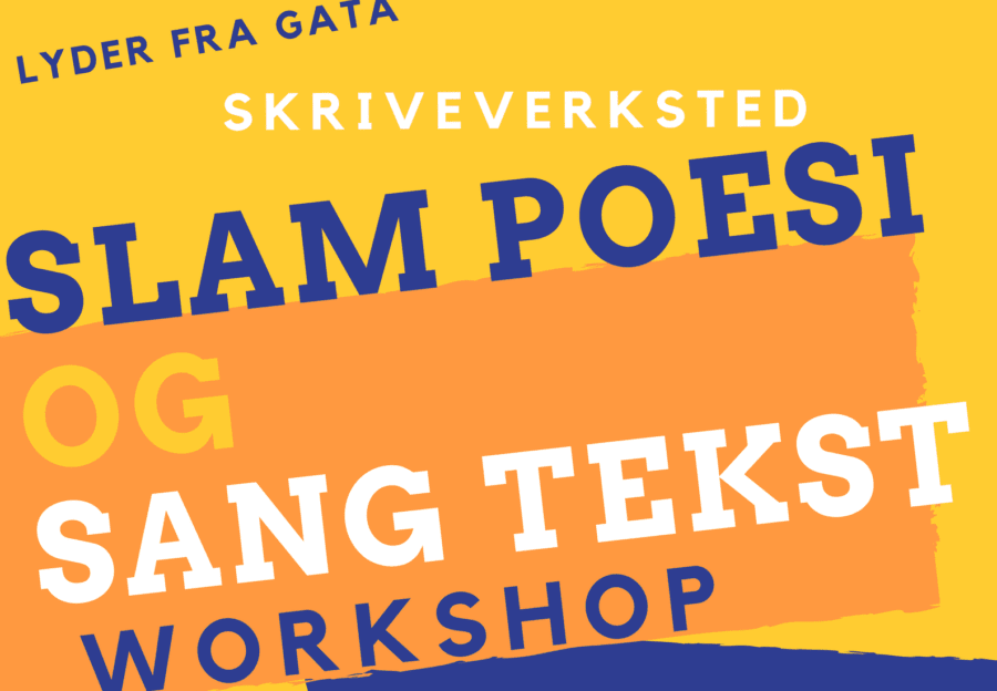 Slam poesi og sangtekst workshop hovedbilde