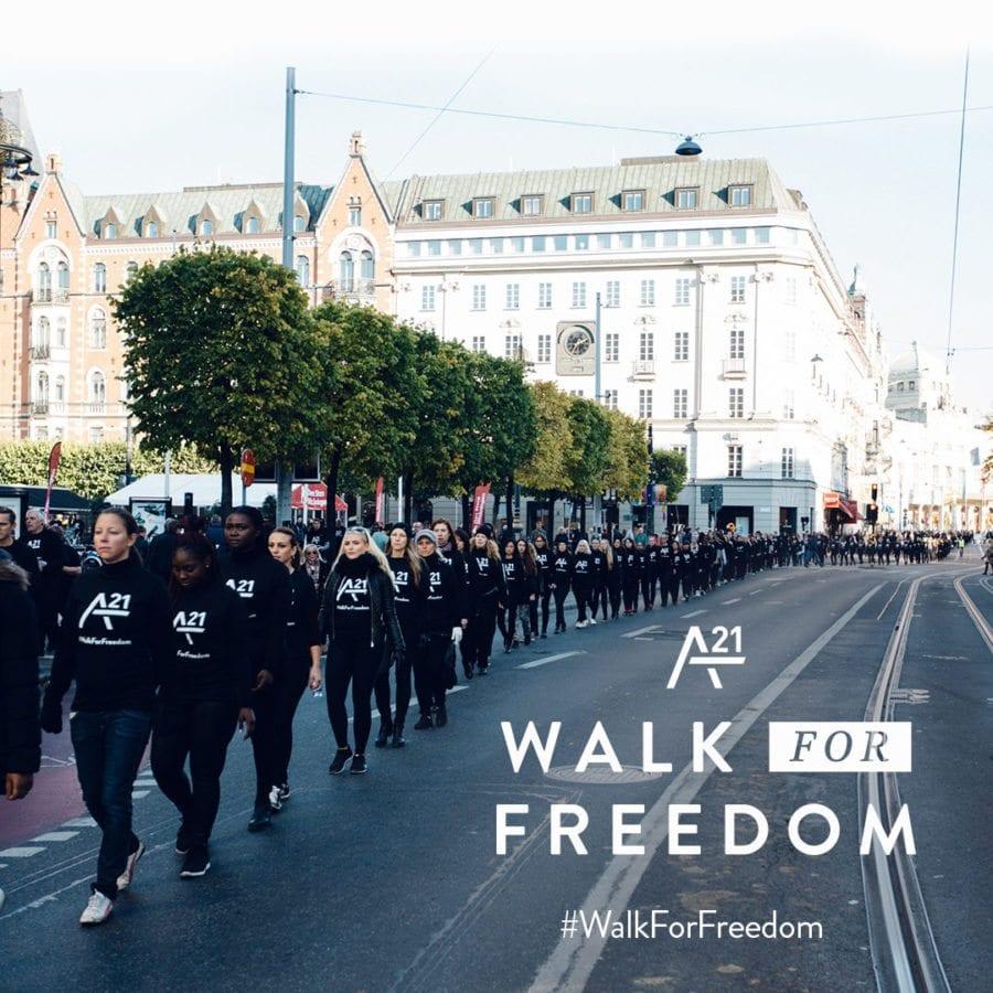 Walk For Freedom Oslo hovedbilde