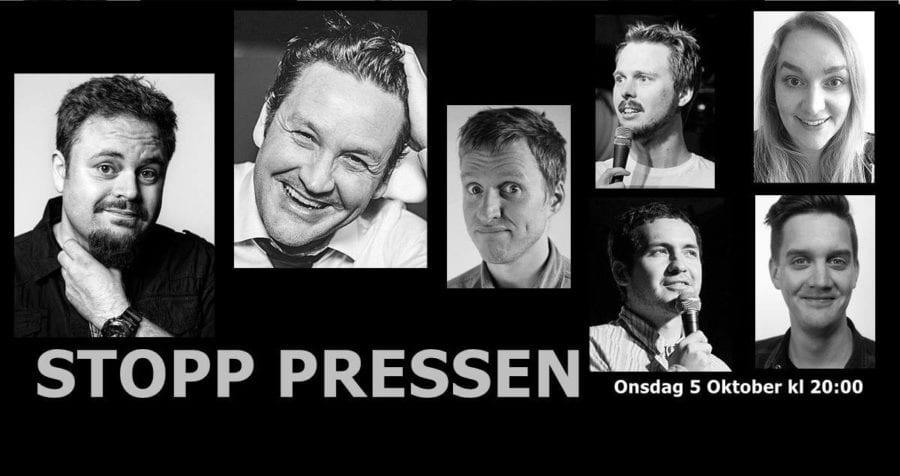Stand up på Stopp Pressen hovedbilde