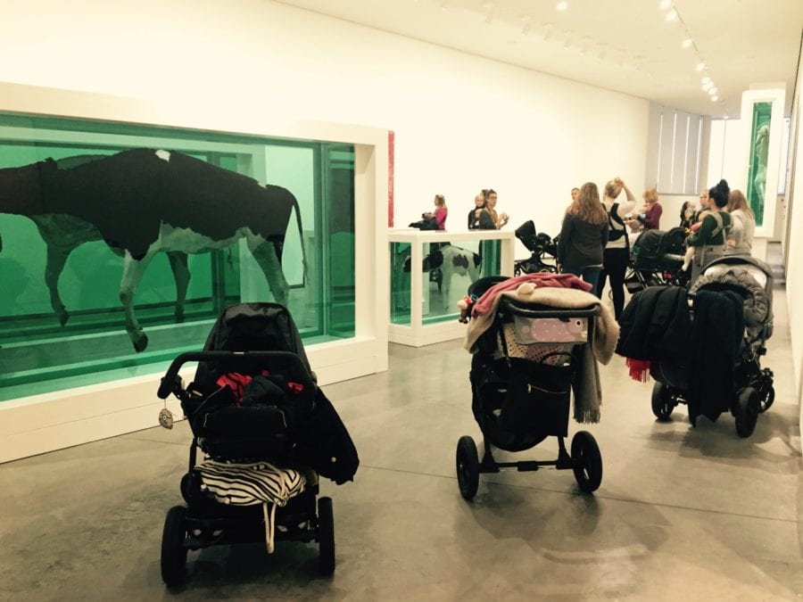 Babyomvisning: Skulptur i Astrup Fearnley samlingen hovedbilde