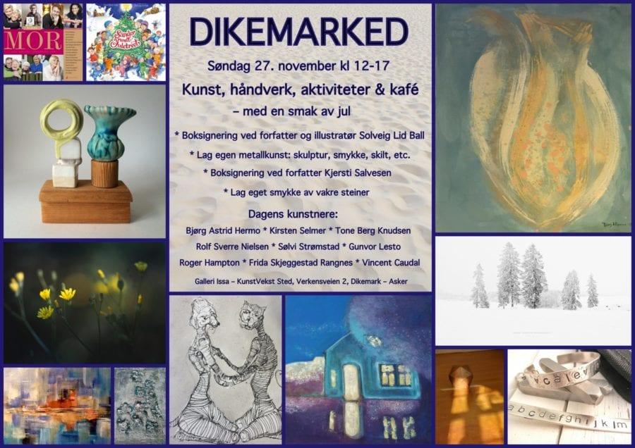 Dikemarked for kunst & håndverk hovedbilde