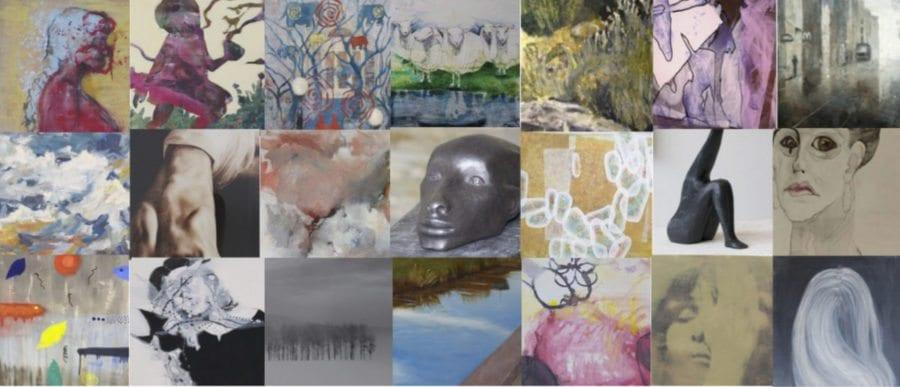 Møt kunsten på Gamle Fornebu Kultursenter hovedbilde