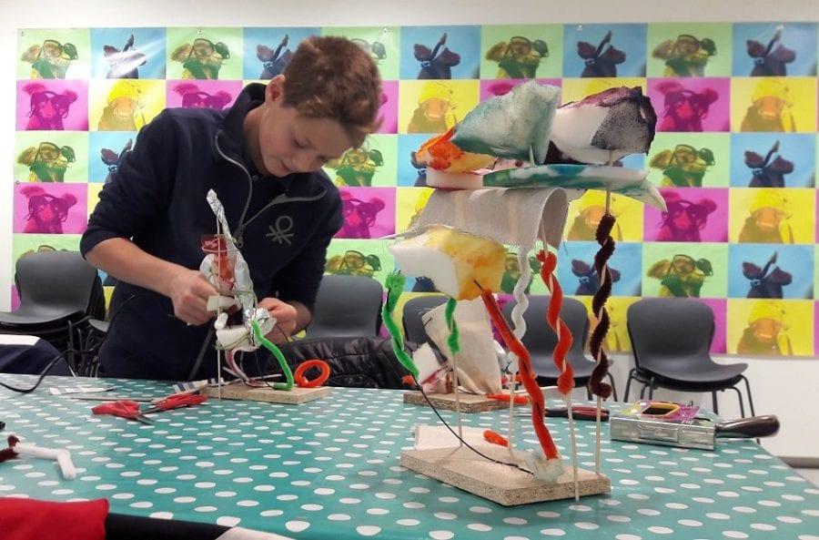 Kreativt familieverksted på Astrup Fearnley Museet hovedbilde