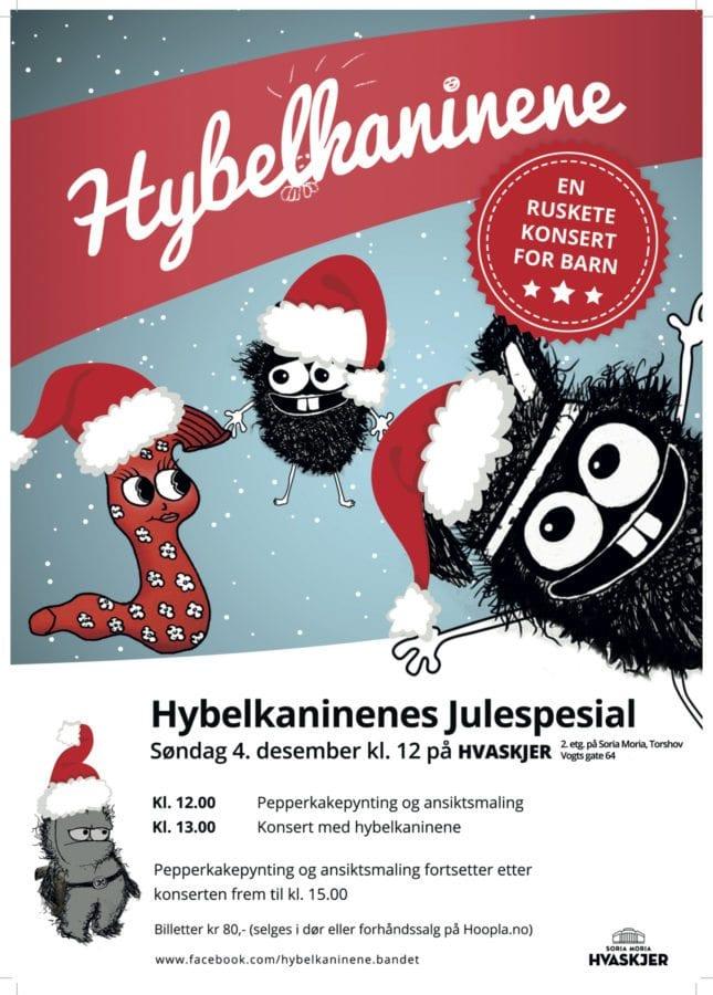 hybelkaninene-plakat-rosa-jul-2