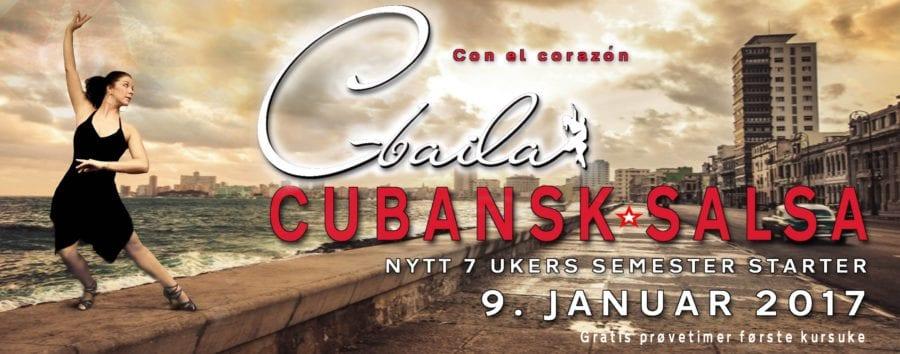 Intensivt nybegynnerkurs i Cubansk salsa hovedbilde