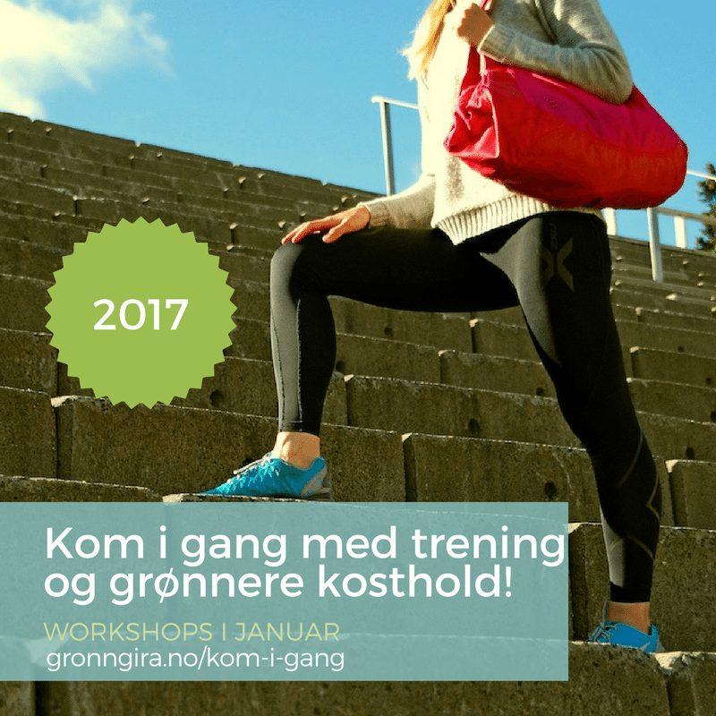 Kom i gang med trening og grønnere kosthold! hovedbilde