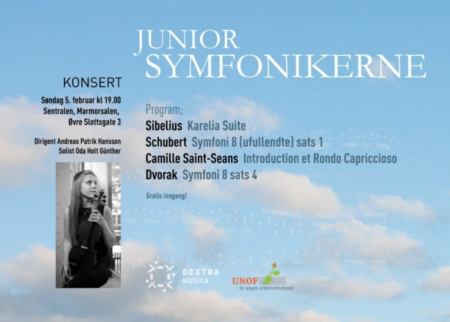 Konsert med Juniorsymfonikerne på Sentralen hovedbilde