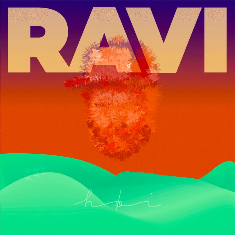 Minikonsert med Ravi live på RadioRiks! hovedbilde