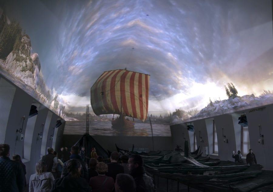 Vikingtiden lever- en tredimensjonal reise hovedbilde
