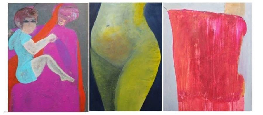 Tre uttrykk i galleri H12 hovedbilde