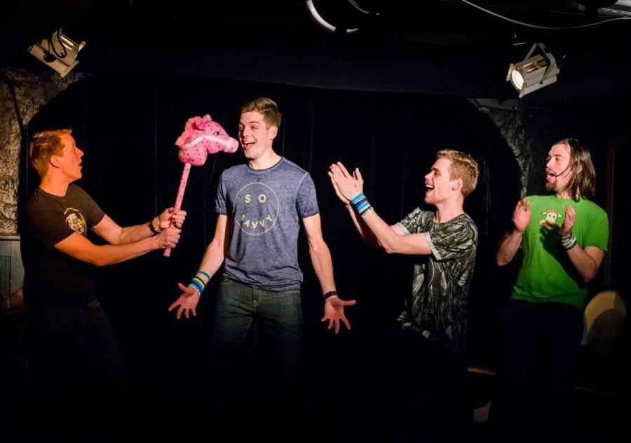 Impro Neuf presenterer: Musikalimpro
