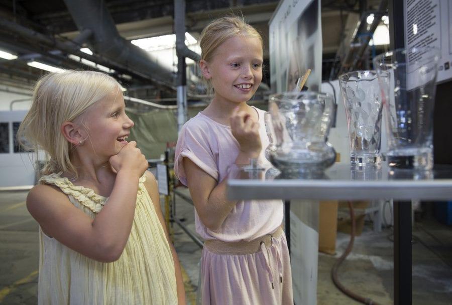 Vinterferieaktiviteter på Hadeland Glassverk hovedbilde