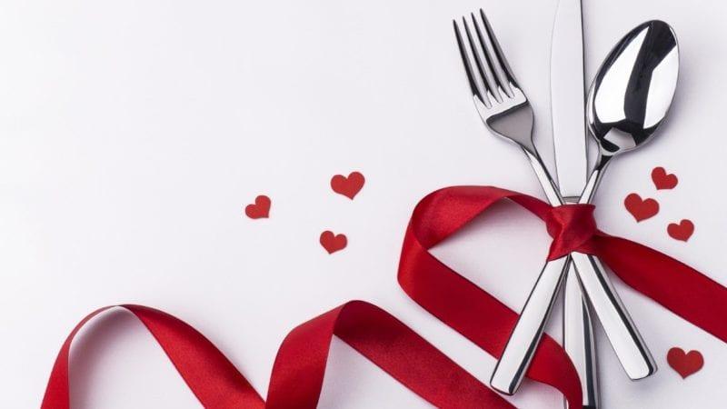 En valentinskveld av de sjeldne hovedbilde