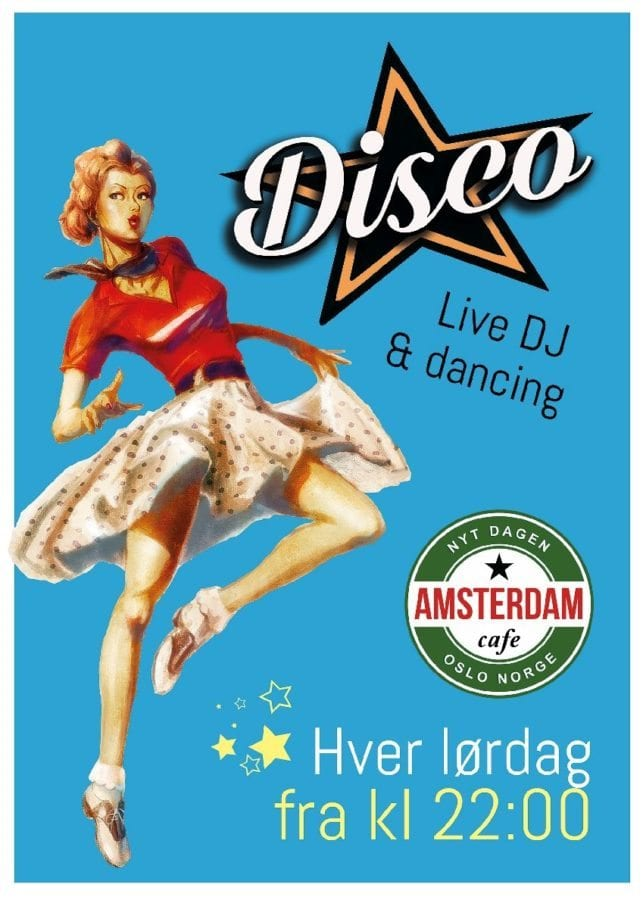 Disco på Cafe Amsterdam