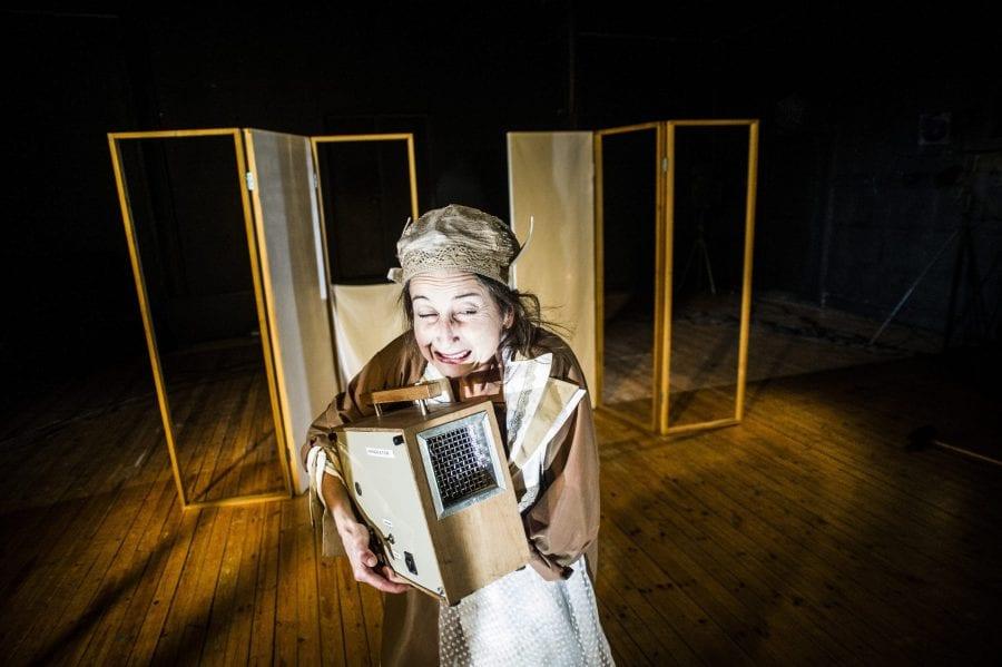 Teaterlørdag UNG: Scene!Art med Sagliocco Ensemble hovedbilde