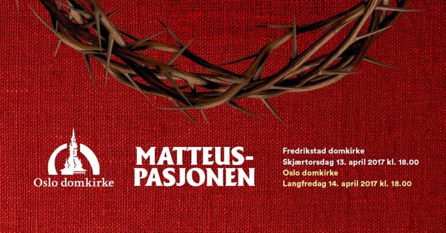 Matteuspasjonen v/Oslo Domkor hovedbilde