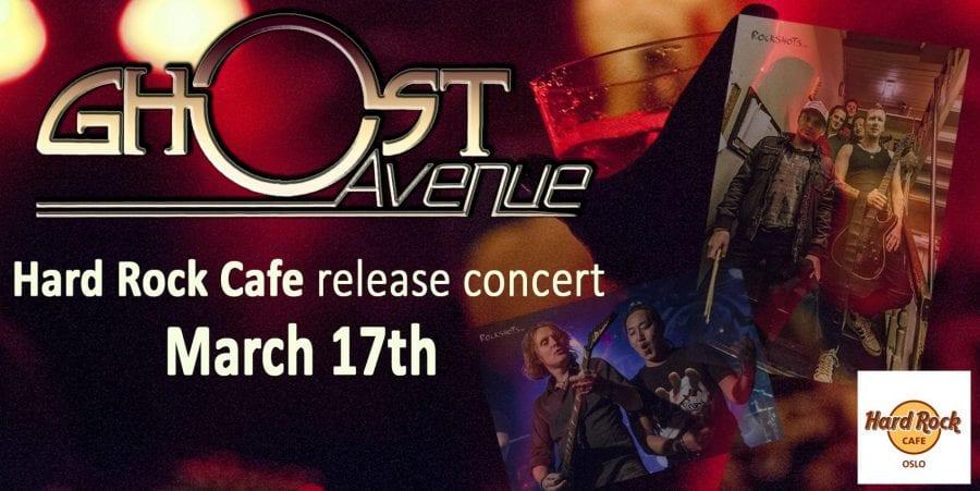 Ghost Avenue Hard Rock Café Release Concert hovedbilde