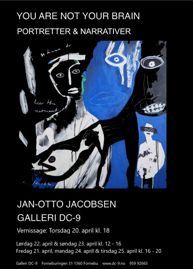Jan-Otto Jacobsen – You are not your brain – Galleri DC-9 hovedbilde