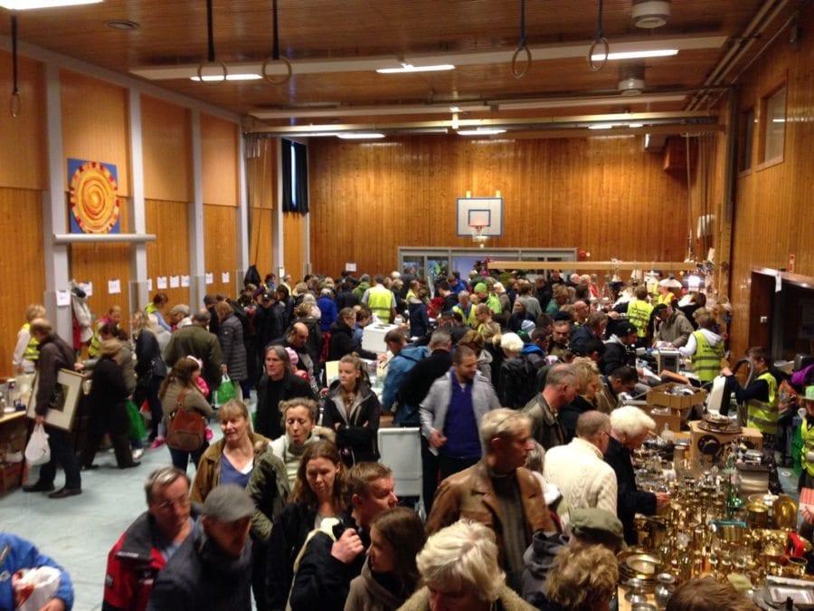 Loppemarked på Eiksmarka skole hovedbilde