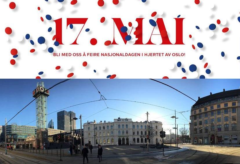 17. mai fest på Østbanehallen – Bli med oss å feire nasjonaldagen i hjertet av Oslo! hovedbilde
