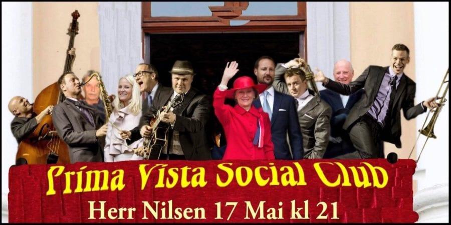 Prima Vista Social Club – 17.mai fest på Herr Nilsen hovedbilde