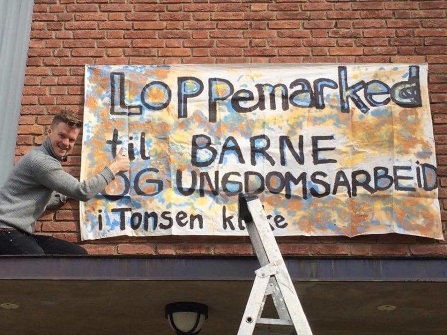 Loppemarked i Tonsen kirke hovedbilde