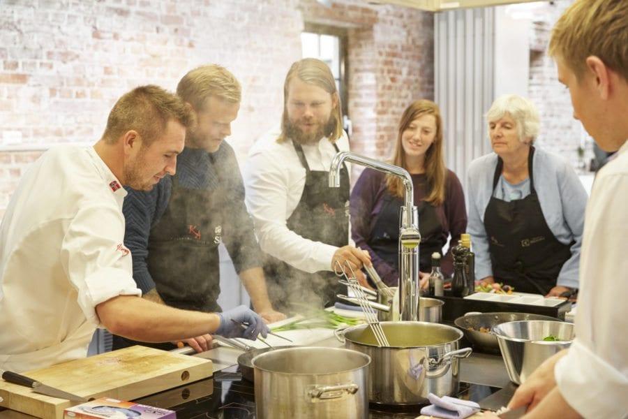 Mini kokkeskole- 3 dagers kokkekurs hovedbilde