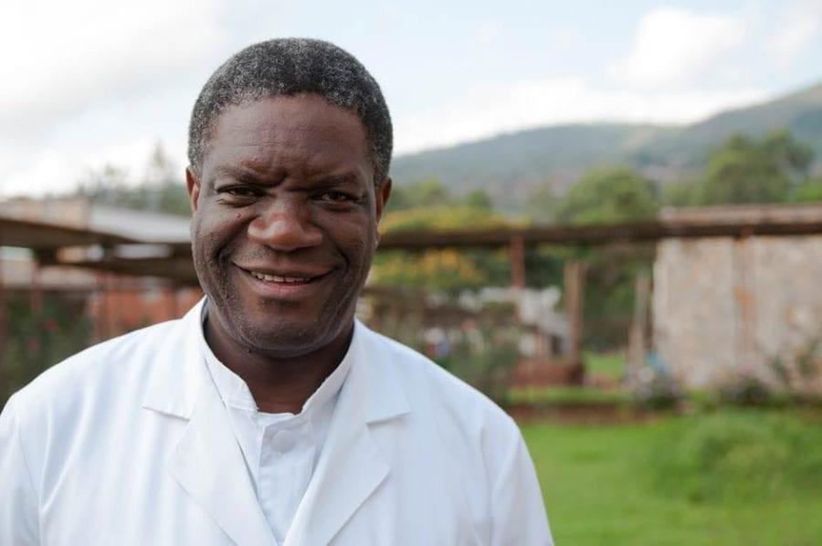 Dr. Denis Mukwege til Nobels Fredssenter hovedbilde