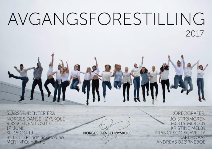 Danseforestilling med 3. årsstudenter fra Norges dansehøyskole hovedbilde